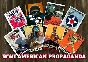 WW1 AMERICAN DIGITAL POSTER PACK - LOT OF 200+ PCS - US Militaria Bundle Deals