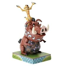 Disney Traditions 4054281 Carefree Cohorts Timon and Pumbaa Lion King