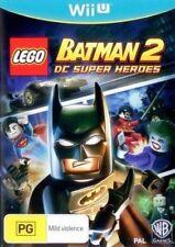 LEGO Batman 2 DC Super Heroes Nintendo Wii U PAL AU VERSION FREE POSTAGE