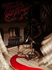Mondo MURDERS IN THE RUE MORGUE (VARIANT) Limited Edition Poster Edgar Allan Poe