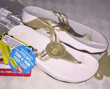 NEW Fitflop Original Gold Flip Flop Sandal Women's size 9 Athletic Toning