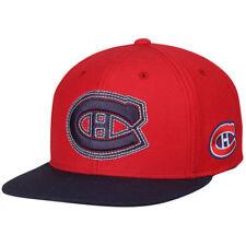 check out 80f03 b3b68 Montreal Canadiens Reebok VS78Z NHL Hockey Contrast Stitch Logo Snapback  Cap Hat