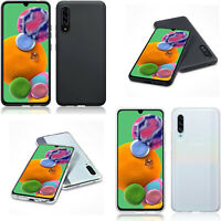 Silicone Slim TPU Gel Back Protector Case Cover For Samsung Galaxy A90 5G