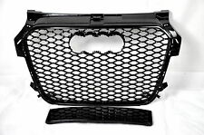 FRONT GRILL Look RS1 BLACK FOR AUDI A1 8X 2010-14 Wabengrill Grille Stoßstange,.
