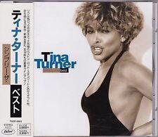 Free Shipping Tina Turner Simply the Best CD JAPAN Obi 1st