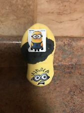 TODDLER BOY'S DISPICABLE ME SLIPPER SOCKS-SIZE: 6-8.5