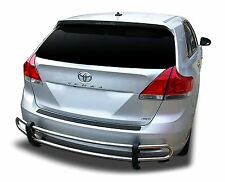 Broadfeet Rear Bumper Guard Protector Double Pipe [Fits: Toyota Venza 2009-2016]