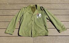 WW2 U.S. Army M41 M1941 Cotton Wool Field jacket Coat Size 38R NEAR MINT USMC