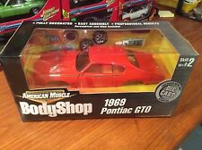 Ertl 1/18 1969 Pontiac GTO BODYSHOP. Item 36520