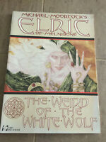 Michael Moorcock Elric of Melnibone Weird of the White Wolf TPB First print 1990