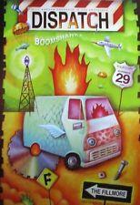DISPATCH FILLMORE POSTER Boom Shaka BGF495 ORIGINAL BILL GRAHAM CONCERT Zawacki