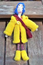 Poseable Coraline Jones Doll Knitting Pattern PDF - Step by Step Pattern to Make