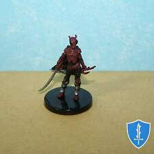 Red Mantis Assassin (Female) - Crown of Fangs #21 Pathfinder Battles D&D Mini