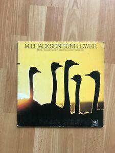 Milt Jackson - Sunflower CTI 6024 Canada G+/EX