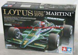 Tamiya 20061 1/20 Lotus Tipo 79 Martini 1979 Kit di Costruzione