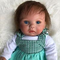 "15"" Realistic Reborn Baby Doll Newborn Toddler Soft Silicone Vinyl Girl Dolls"