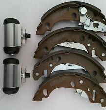 Ford KA 1.3 00-02 New Rear Brake Shoe Set And Wheel Cylinders