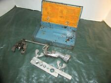 Vintage Imperial Brass Flaring Tool Set with Case LQQK!