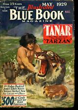 Blue Book Magazine - 05/29-Burroughs[Tanar of Pellucidar]-VG - PULP