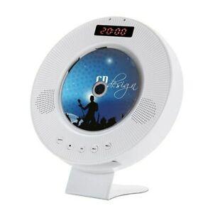 Wall Mounted CD Player, DVD MPlayer Hifi FM Radio Bluetooth Portable Music Playe