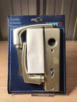 Hoppe Kurzschild Dubayy Garnitur BB Ausführung Aluminiun Neusilber 107ML/202KP