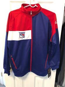 New York Rangers Majestic 100% Polyester Boys Zip Up Jacket XL