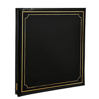 Photo Album Self Adhesive Black 24/Sheets 48/Sides By Arpan