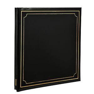 Photo Album Self Adhesive Black 24/Sheets 48/Sides By Arpan