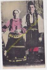 CPA Jeunes Mariés Macédoniens en costume de Noce Edit ca1918