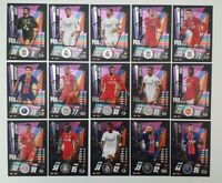 2020/21 Match Attax UEFA Champions - Pro Select Sub-Set (15 cards) inc Mbappe