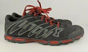 INOV-8 F-LITE 195 Womens 6 M Lightweight Trail Cross Training Shoes Gray Red