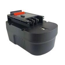 14.4V Battery for BLACK & DECKER  A1714 FSB14 Drill 2100mAh New - 2YR WARRANTY