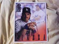 MIKE PIAZZA 1998 DONRUSS STUDIO 8 X 10 BASEBALL CARD #9   RARE