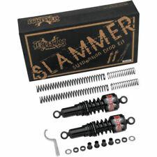 Burly Black Slammer Shocks + Fork Springs Lowering Kit 04-15 Harley Sportster XL