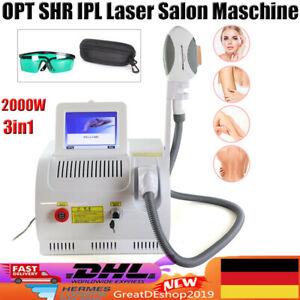OPT SHR IPL Laser Salon Maschine Hautverjüngung RF Haarentfernung Beauty