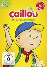 Caillou Sammel-Box - 10 DVD Box