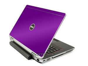 PURPLE Vinyl Lid Skin Cover Decal fits Dell Latitude E6220 E6230 Laptop