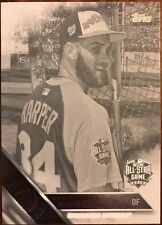 BRYCE HARPER ALL-STAR - 2016 Topps Update BLACK AND WHITE NEGATIVE - #US297