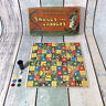 Vintage / Old 1930's Snakes And Ladders Board Game Complete Boxed
