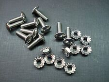 """10-32 x 5/8"""" Chevy grille rivets with nuts stainless steel rivet screw 10 pcs"""