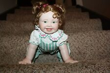 Kathy Barry-Hippensteel Porcelain Doll Baby Girl M4073 Learning to Walk