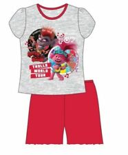 Trolls World Tour Summer Short Shortie Pyjamas Pjs Nightwear Sleepwear