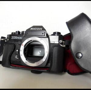 RICOH XR500 35mm SLR Film Camera Body Good Operation!! From Japan