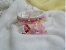 OOAK  Miniature Handmade Baby Girl  1:12th SCALE   TINY DOLLS HOUSE BABY/NURSERY