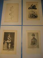 Circus Renz 1930.Jahre Drucke,Bilder von Artisten,Künsler-Circus pictures 1930