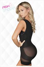Pink Shaper Brand  Short Body Bella Reshaper , Size  26 Black Color
