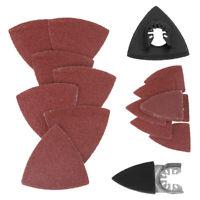 82 Pc Sanding Pad Sand Paper For Fein Multimaster Makita Bosch Dremel Kit