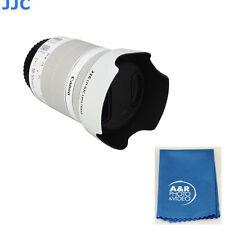 JJC LH-63C Lens Hood  White for Canon EF-S 18-55mm f/3.5-5.6 IS STM EW-63C 18-55