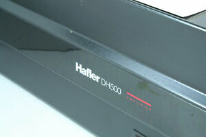 Hafler DH-500 2 Channel Power Amplifier ReCapped and Very Nice Condition! Tested