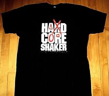 * HARD CORE SHAKER EB Video Games * BRAND NEW T Shirt XL Double Sided Logo